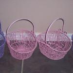 Homemade Flower Girl Basket