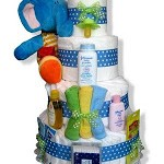 Win It, But Don't Eat It: A Diaper Cake! (now closed)