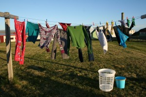hanging-laundry