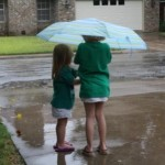 Wordless Wednesday – Playing in the Rain