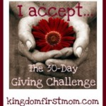 Day 9: The 30-Day Giving Challenge