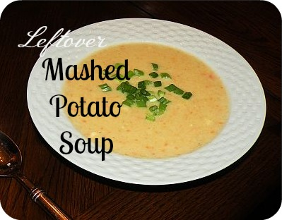 ... simple yet hearty, creamy potato soup is always a favorite in my home