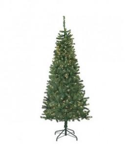 7 foot pre-lit tree: $35.99