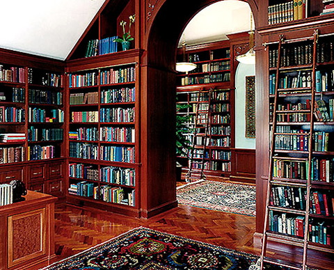this is the related images of Building A Library In Your Home