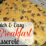 Quick & Easy Breakfast Casserole