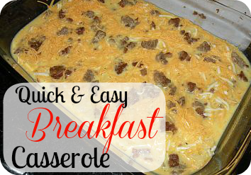 easy and so delicious breakfast casserole the easy breakfast casserole ...