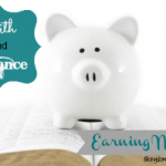 Faith & Finance: Earning Money