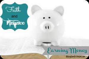 faith & finance earning money