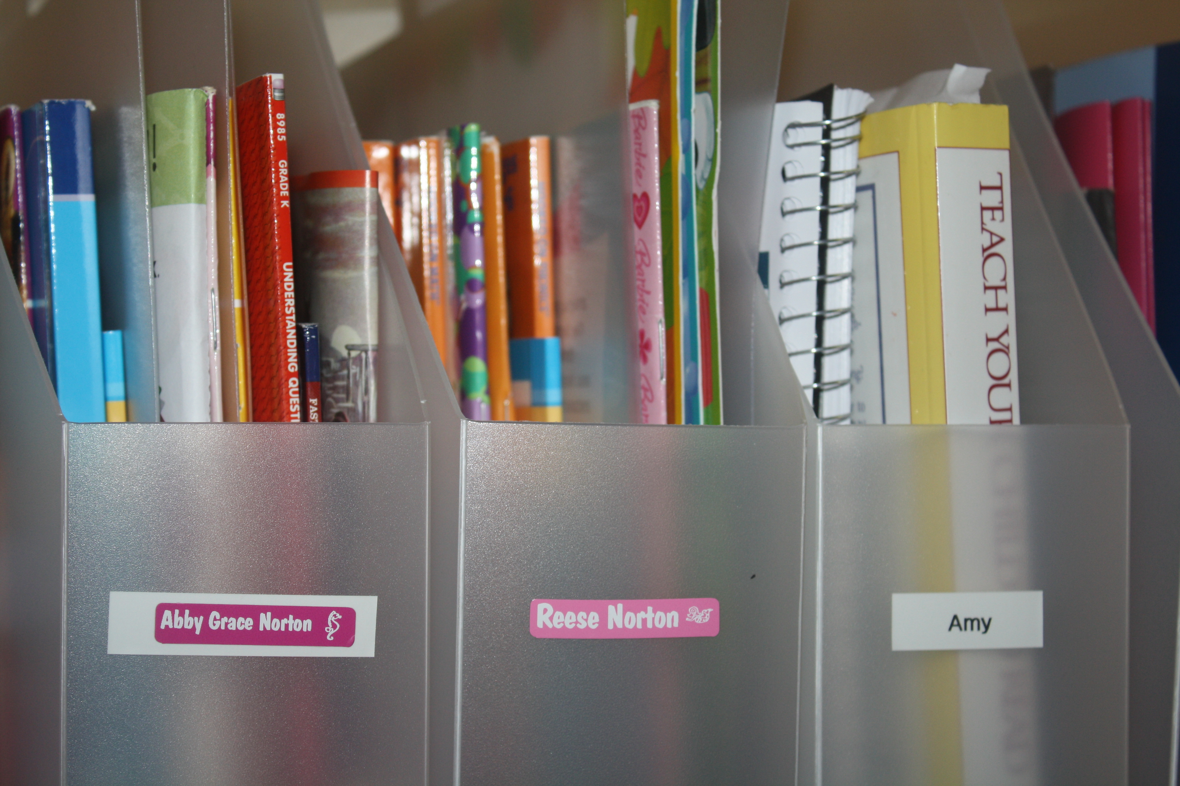 How to organize your home with labels homeshool for How to organize your home