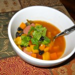 Turkey Sausage & Black Bean Soup