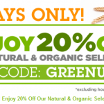Soap.com – 20% off Natural and Organics