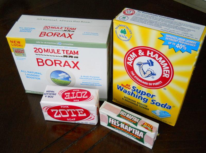 how to make homemade liquid laundry soap