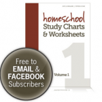 Homeschool Favorite: Free Study Charts and Worksheets from Five J's