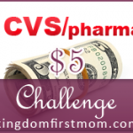 CVS $5 Challenge: Week of October 6 – 12