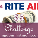 Rite Aid $5.00 Challenge: Week of July 31