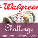Walgreens $5 Challenge: Week of January 19 – 25