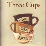 Review and Giveaway: Three Cups {A Lesson in Life and Money for Children}