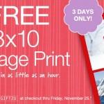 Free 8×10 Photo Collage Print at Walgreens