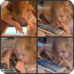 How to Play the iPad and Suck Your Thumb at the Same Time {Wordless Wednesday}