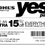 Retail and Restaurant Coupons Round-Up {Weekend of 2/4}