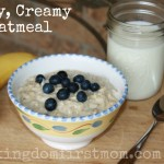 Easy, Creamy Oatmeal Recipe