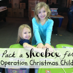 Giving Challenge: Operation Christmas Child 2012