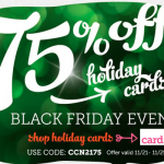Deal Alert: 75% off + Free Shipping on Christmas Cards