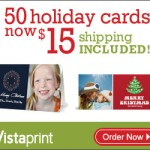 Deal Alert: 50 Christmas Cards for $15 {+ Free Shipping!}