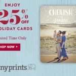 Tiny Prints: 35% off Photo Gifts + 25% Everything Else {through 12/2}