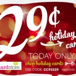 29¢ Christmas Cards: Today (12/12) Only!