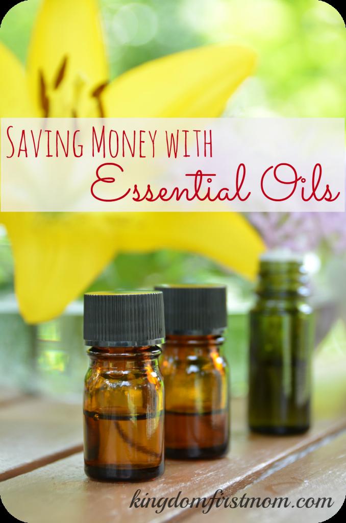 Saving Money with Essential Oils