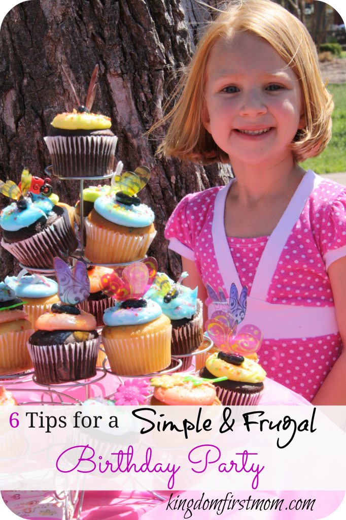 Six Tips for a Simple and Frugal Birthday Party