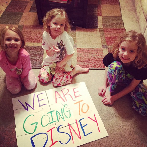 Going to Disney
