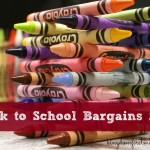 Back to School Bargains: Week of July 21 (Link Up)