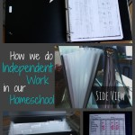 Independent Work Binder