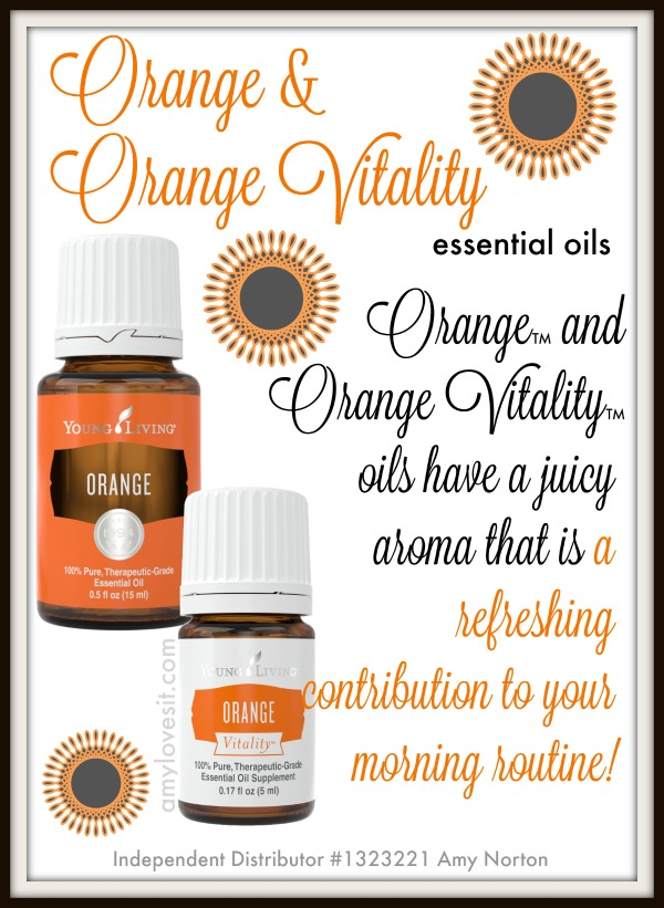 Orange and Orange Vitality Essential Oils | AmyLovesIt.com
