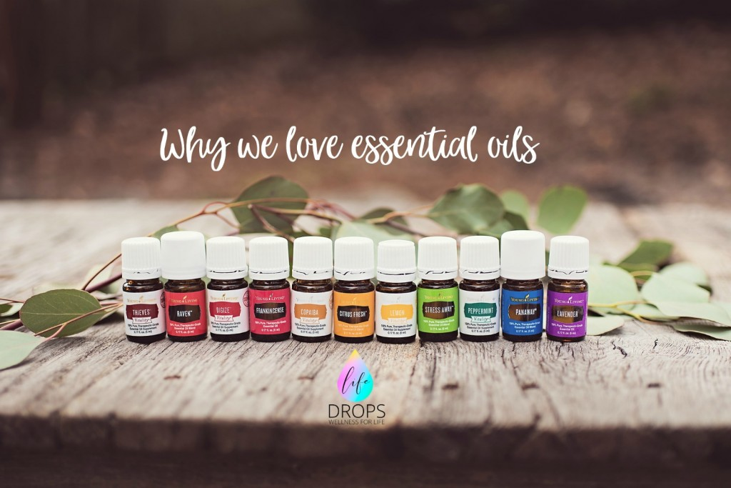Why we love essential oils