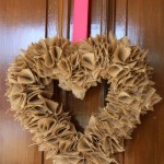 Gettin' Crafty: A Valentine's Wreath {or three!}