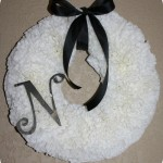 Gettin' Crafty: A Coffee Filter Wreath