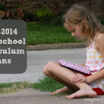 Fall 2013 Homeschool Plans