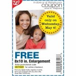 Free 8×10 print at Walgreens!