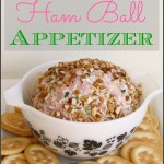 Cream Cheese Ham Ball Appetizer