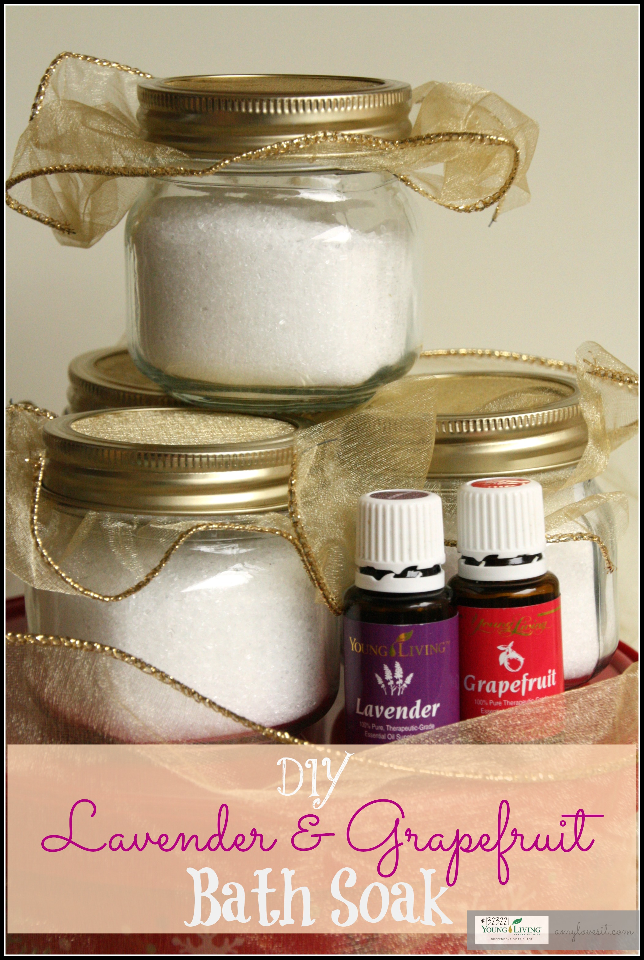 Lavender and Grapefruit Bath Soak