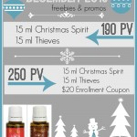 Young Living December 2013 Promo: Free Thieves and Christmas Spirit!