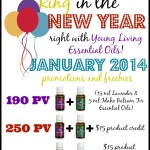 Young Living January 2014 Promo: Free Lavender and Idaho Balsam Fir