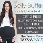 2 Free Belly Button Bands + How to Use a Belly Band Post-Pregnancy!