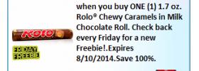 Free Rolo Coupon