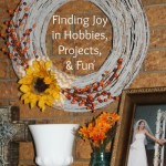 Finding Joy in Hobbies, Projects, and Fun | AmyLovesIt.com #write31days