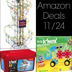 Amazon Toy Deals 11/24: K'NEX, Lincoln Logs, TinkerToys, and More! | AmyLovesIt.com