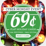 $0.69 Flat Holiday Cards (12/1 only!)